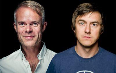 Bokbad med Tore Renberg og Tønes!