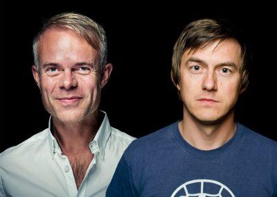 Bokbad: Tore Renberg og Tønes