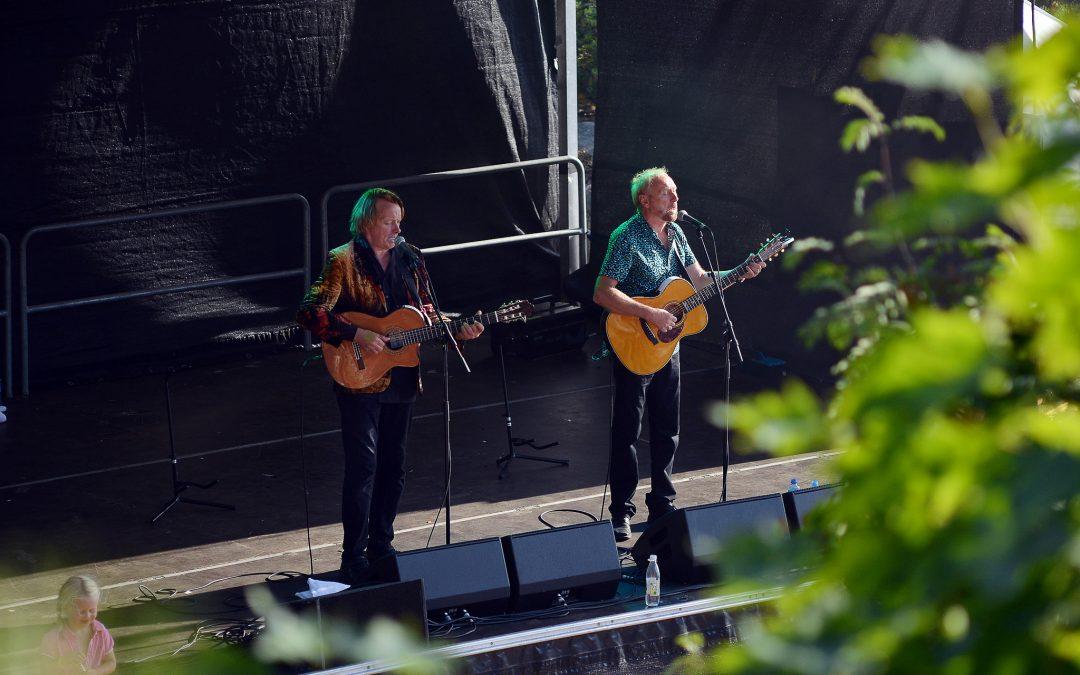 Eggum og Sivertsen på Buøya, 27.07.13, Foto Birgit Fostervold