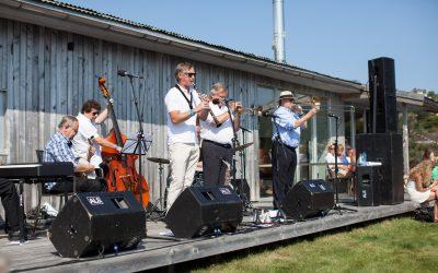 Good old days på lille Skottholmen med Magnolia Jazzband