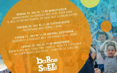 Programmet for BarneStreet 2018 er klart!
