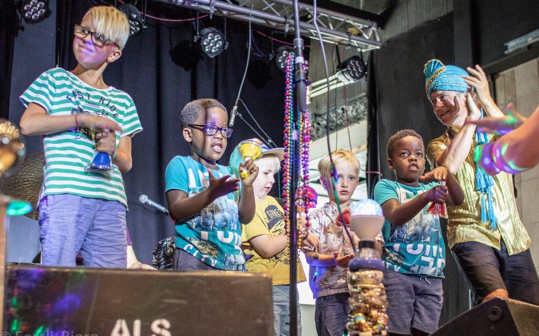 Kroppsmusikk og jubelblues på BarneStreet
