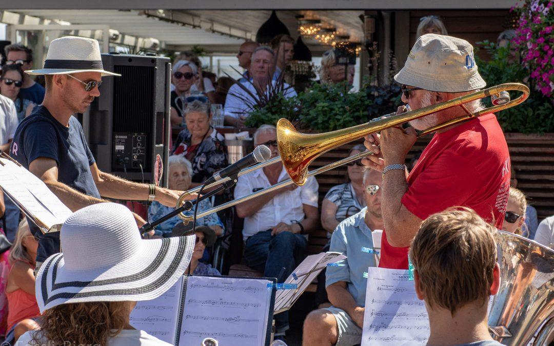 Solrik jazzbrønsj med Indre Torungen Brass Ensemble