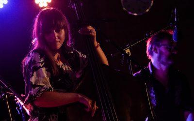 Kulaste katta i byen i kveld  |  Ellen Andrea Wang Trio