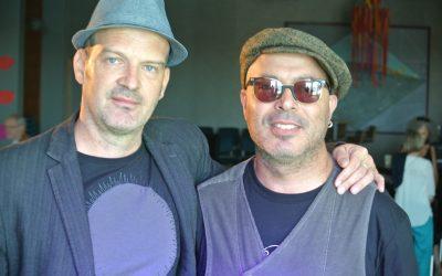 Vi møtte Dhafer Youssef og Wolfgang Muthspiel