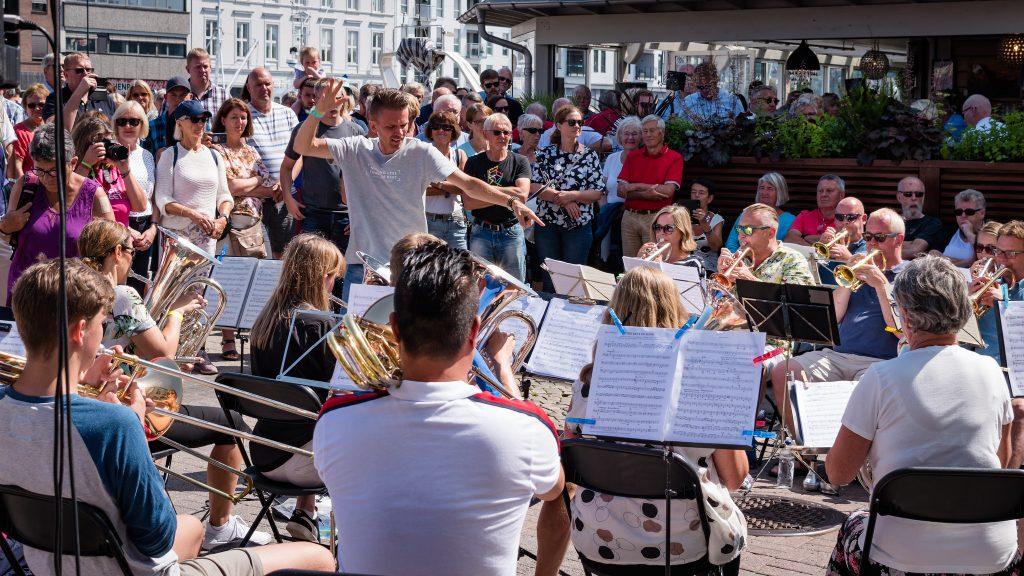 Indre Torungen Brass Ensemble 2019 (foto: Elin Solbø Sunnarvik)