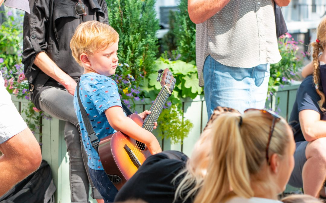 Tomas F Band – Barnestreet fredag 26. juli