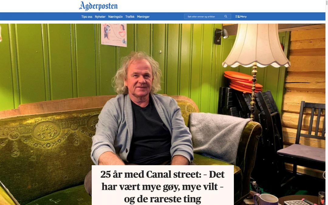 Faksimile Agderposten 13. feb 2021