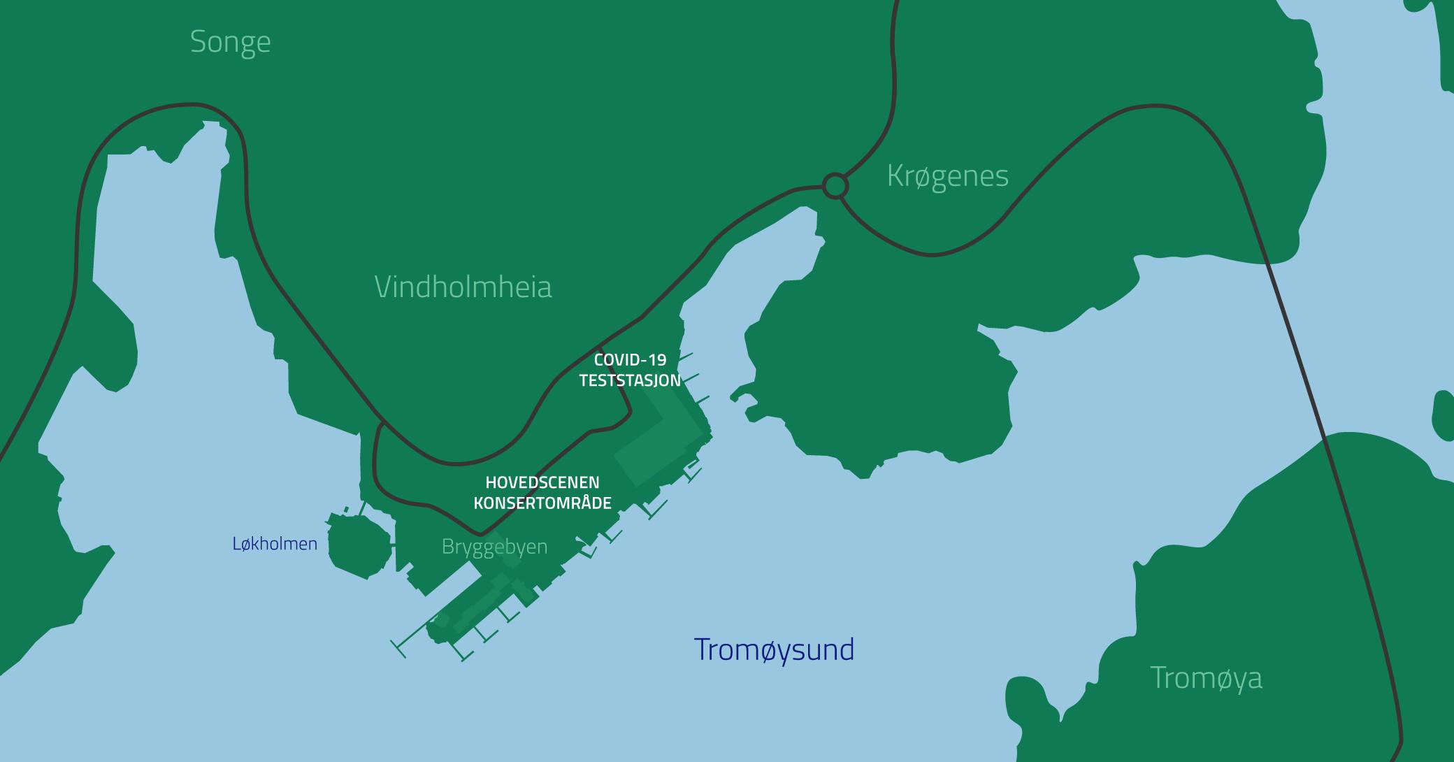 Bryggebyen kart