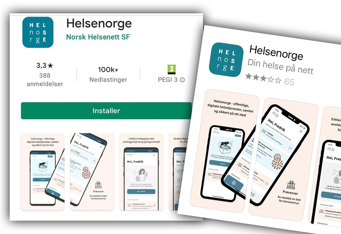 HelseNorge-app